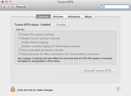 Скачать Tuxera NTFS for Mac