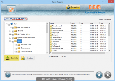 Скачать Removable Media Data Recovery
