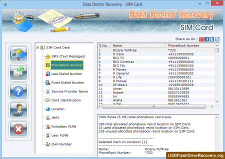 Скачать SIM Card Data Recovery