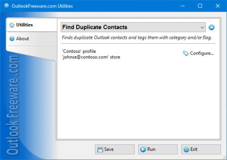 Скачать Find Duplicate Contacts for Outlook